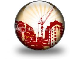 Building Construction PowerPoint Icon C