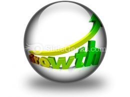 Business Growth PowerPoint Icon C