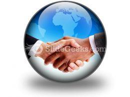 Business Handshake PowerPoint Icon C
