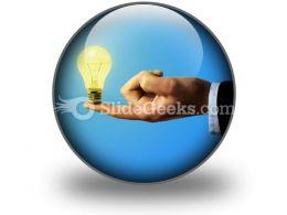 Business Idea PowerPoint Icon C