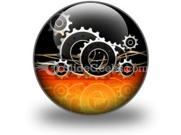 Business Industrial PowerPoint Icon C