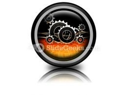 Business Industrial PowerPoint Icon Cc