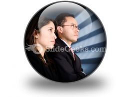 Business Partners PowerPoint Icon C