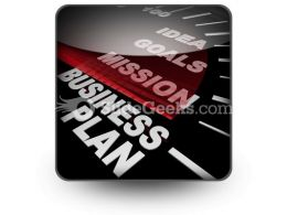 Business Plan03 PowerPoint Icon S