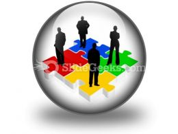 Business Team PowerPoint Icon C