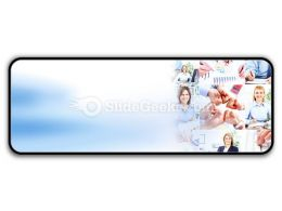 Business Woman Collage PowerPoint Icon R