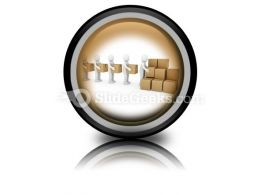 Carton Package Shipping PowerPoint Icon Cc
