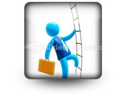 Climbing To Success Ppt Icon For Ppt Templates And Slides S