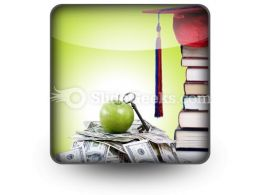 College Money PowerPoint Icon S