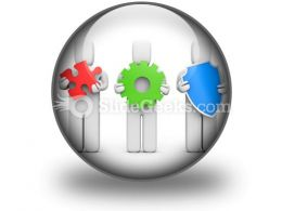 Complex Service Idea Development PowerPoint Icon C