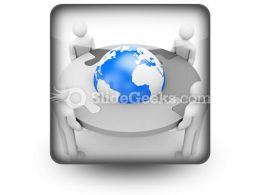 Cooperation Team PowerPoint Icon S