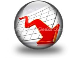 Crisis Graph Ppt Icon For Ppt Templates And Slides C