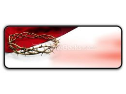 Crown Of Thorns Ppt Icon For Ppt Templates And Slides R