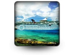 Cruise Ship01 PowerPoint Icon S