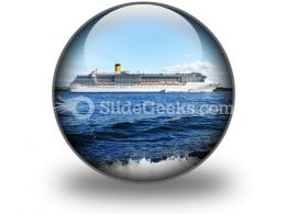Cruise Ship PowerPoint Icon C  Presentation Themes and Graphics Slide01