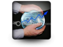 Crystal Ball Success PowerPoint Icon S