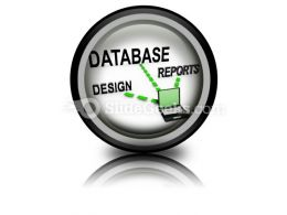 Database System PowerPoint Icon Cc