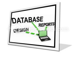 Database System PowerPoint Icon F