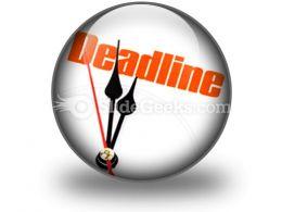 Deadline PowerPoint Icon C