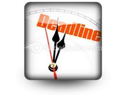 Deadline PowerPoint Icon S