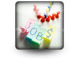 Direction To Jobs PowerPoint Icon S