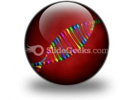 Dna PowerPoint Icon C