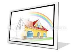 Dream Home Coming True PowerPoint Icon F