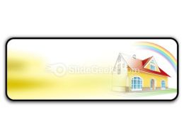 Dream Home Coming True PowerPoint Icon R