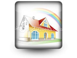 Dream Home Coming True PowerPoint Icon S