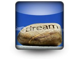 Dreams Put To Rest PowerPoint Icon S