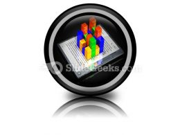 E Book Data PowerPoint Icon Cc
