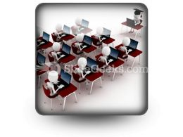 E Learning Education PowerPoint Icon S