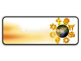 Earth Religious Symbols PowerPoint Icon R
