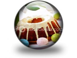 Easter Cake PowerPoint Icon C