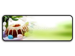 Easter Cake PowerPoint Icon R