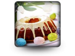 Easter Cake PowerPoint Icon S