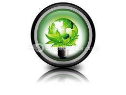 Eco Concept PowerPoint Icon Cc