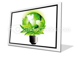 Eco Concept PowerPoint Icon F