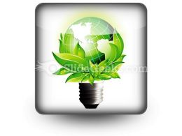 Eco Concept PowerPoint Icon S