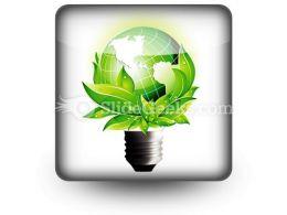 Eco Concept PowerPoint Icon S