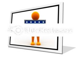 Election Time PowerPoint Icon F