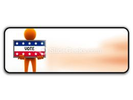 Election Time PowerPoint Icon R