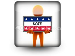 Election Time PowerPoint Icon S