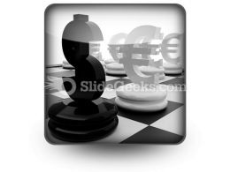 Euro And Dollar PowerPoint Icon S