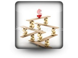 Financial Balance Stable PowerPoint Icon S