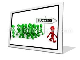 Find Success PowerPoint Icon F