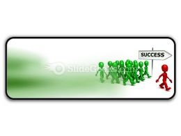 Find Success PowerPoint Icon R