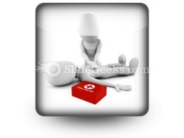First Aid PowerPoint Icon S