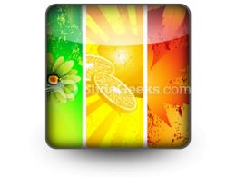 Four Seasons PowerPoint Icon S