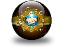 Global Business PowerPoint Icon C  Presentation Themes and Graphics Slide01